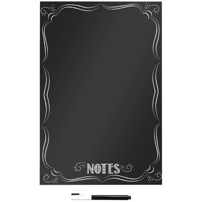 Bistro Notes Dry-Erase Message Board Wall Decal