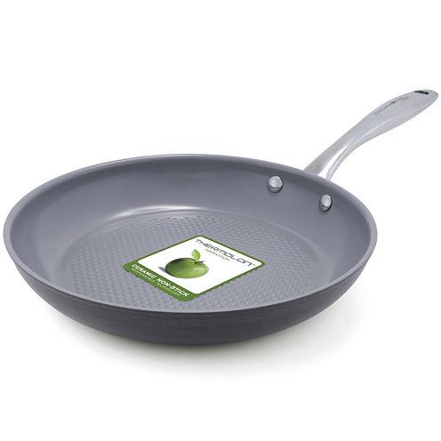 "GreenPan™ Lima 3D I Love Fish and Veggies 10"" Hard-Anodized Fry Pan"