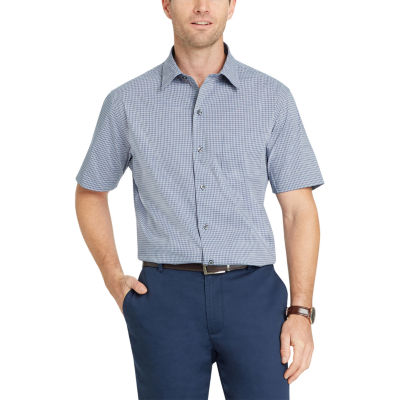 Van Heusen Flex Short Sleeve Button-Front Shirt