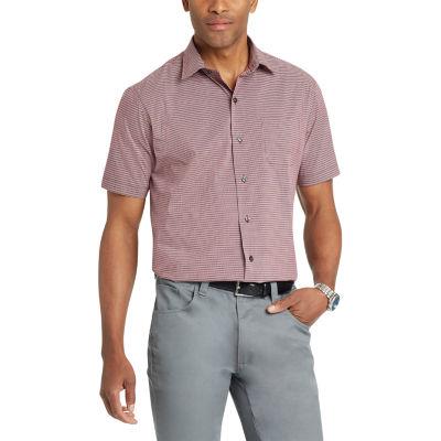 Van Heusen Short Sleeve Button-Front Shirt