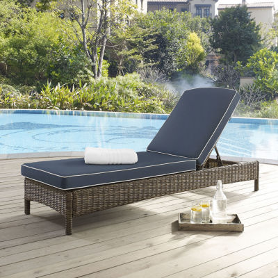 Bradenton Chaise Patio Lounge Chair With Cushions