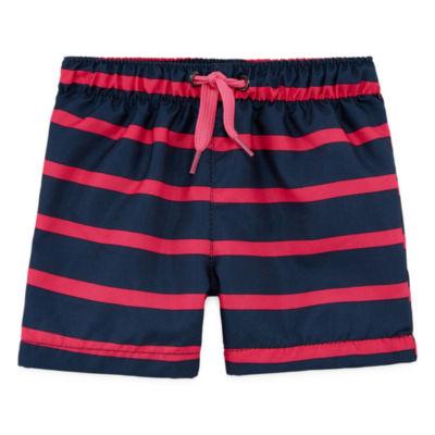 City Streets Boys Stripe Trunks-Baby