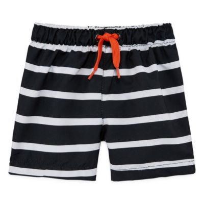 City Streets Boys Stripe Trunks-Baby