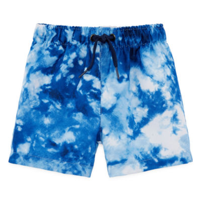 City Streets Boys Tie Dye Trunks-Baby