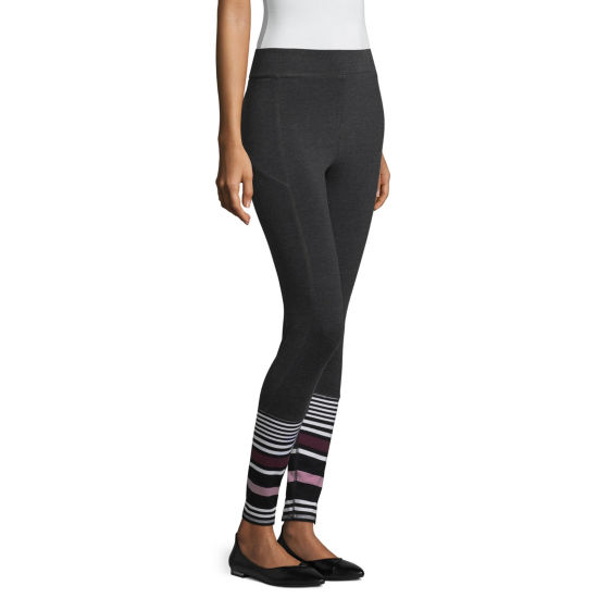 Mixit Stripe Hem Leggings