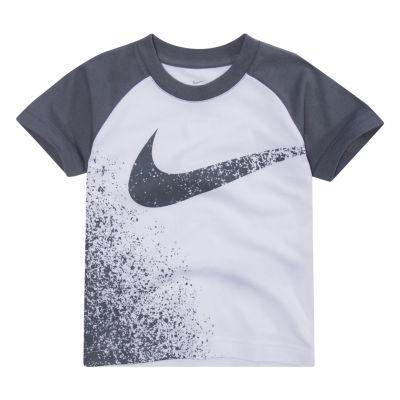 Nike Short Sleeve Crew Neck T-Shirt-Preschool Boys