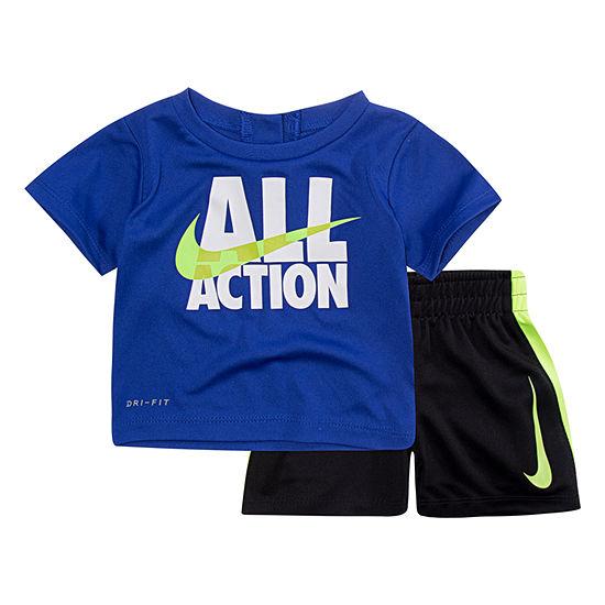 Nike 2 Pc Short Set Boys