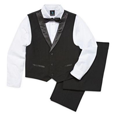 "Steve Harvey Boys 4-pc. Suit Set Regular"" 4-20"