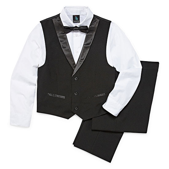 "Steve Harvey Boys 4-pc. Suit Set Regular"" 4-20"
