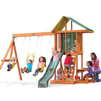KidKraft Springfield II Wooden Swing Set