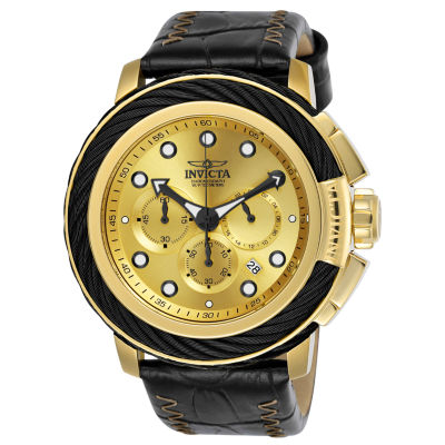Invicta Bolt Mens Black Strap Watch-24442