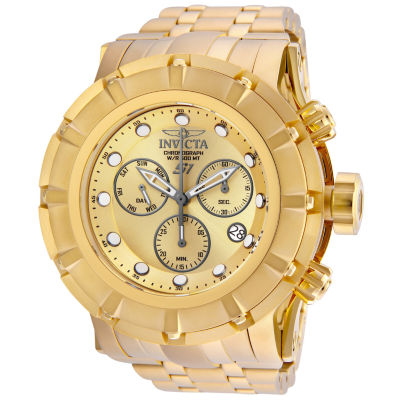 Invicta S1 Rally Unisex Gold Tone Strap Watch-23953