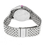 Bertha Womens Silver Tone Stainless Steel Bracelet Watch-Bthbr7201