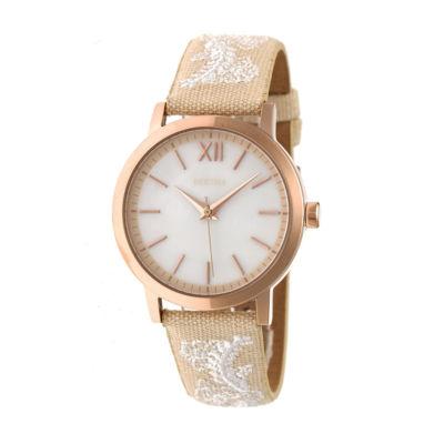 Bertha Unisex Brown Strap Watch-Bthbr7304