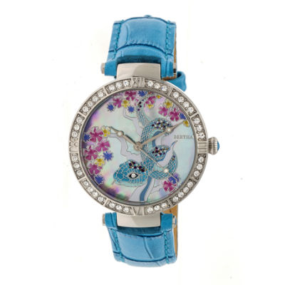 Bertha Unisex Blue Strap Watch-Bthbr7401