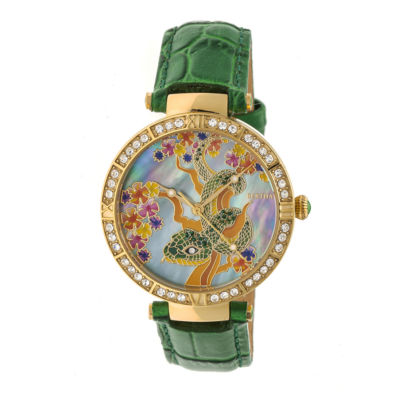 Bertha Unisex Green Strap Watch-Bthbr7403