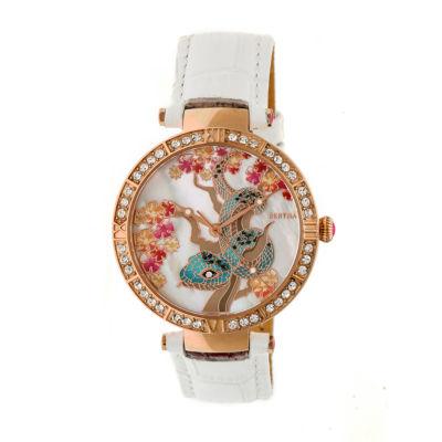 Bertha Unisex White Strap Watch-Bthbr7405