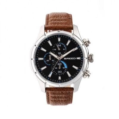 Breed Unisex Brown Strap Watch-Brd6802