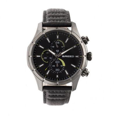 Breed Unisex Gray Strap Watch-Brd6806