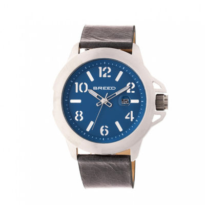Breed Unisex Gray Strap Watch-Brd7101