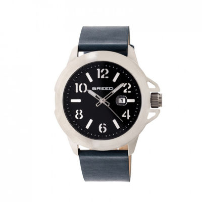 Breed Unisex Blue Strap Watch-Brd7102