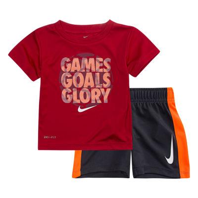 Nike 2-pack Short Set Baby Boys