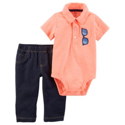 Carter's 2-pc. Pant Set - Baby Boys