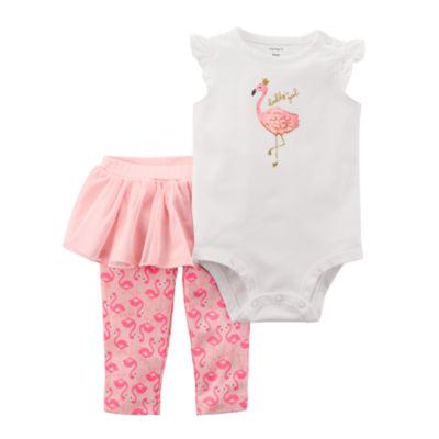 Carter's Bodysuit & Tutu Legging 2-pc. Set - Baby Girl