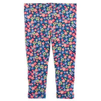 Carter's Floral Knit Leggings - Baby Girls