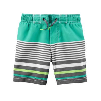 Carter's Stripe One Piece Swimsuit Baby Boys