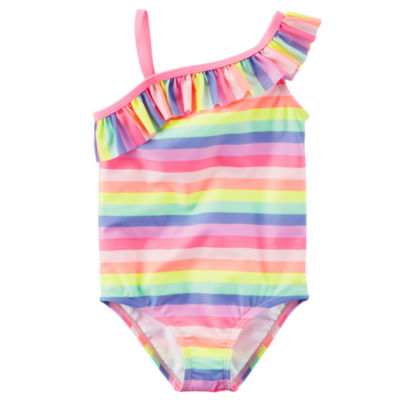Carter's Stripe One Piece Swimsuit Baby Girls