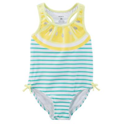 Carter's Stripe One Piece Swimsuit Baby Girls