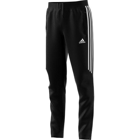 06da13f0 adidas Tiro Jogger Pant- Big Kid Boys, Color: Black White - JCPenney