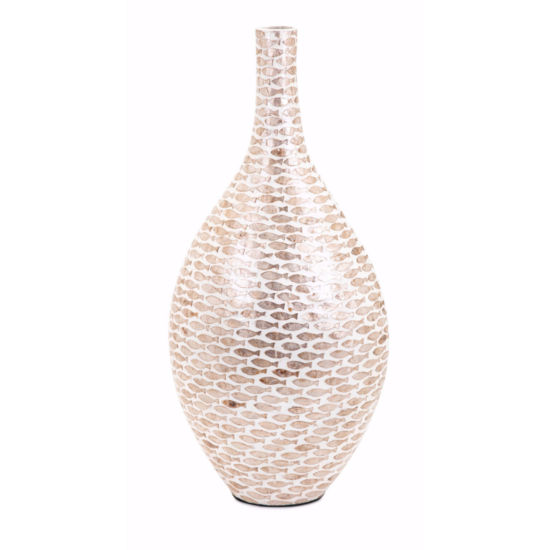 IMAX Worldwide Home Pisces Shell Vase