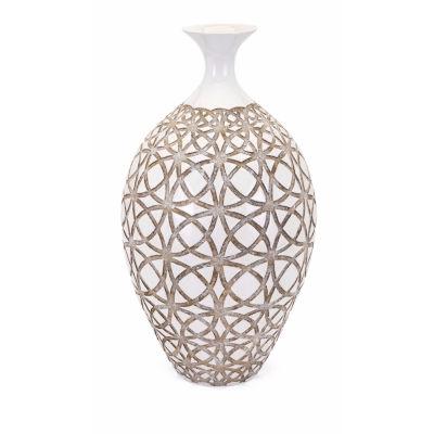 IMAX Worldwide Home Kelsang Earthenware Vase