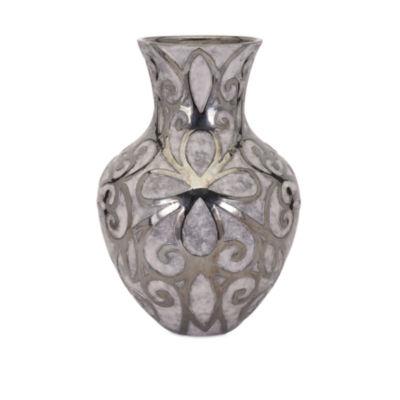 IMAX Worldwide Home Rowena Earthenware Vase