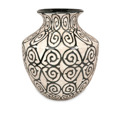 IMAX Worldwide Home Benigna Wide Oversized Floor Vase