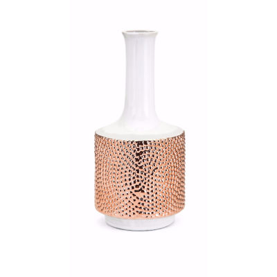 IMAX Worldwide Home Tannia Ceramic Vase
