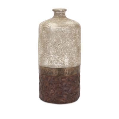 IMAX Worldwide Home Sabah Terracotta Vase