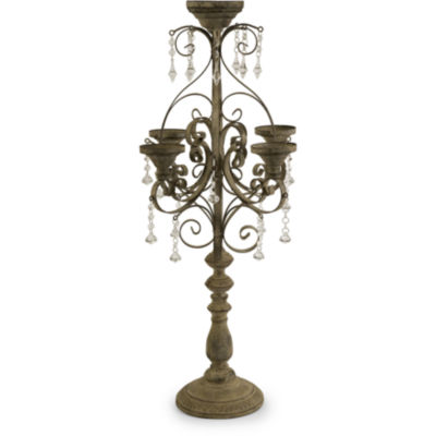 IMAX Worldwide Home Tracy Candle Chandelier Tabletop