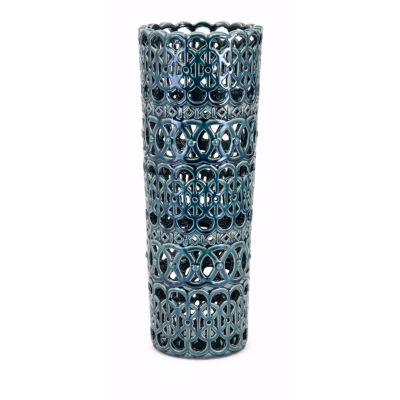 IMAX Worldwide Home Hadwin Ceramic Vase