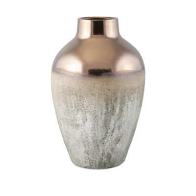 IMAX Worldwide Home Hargrove Metallic Top Vase
