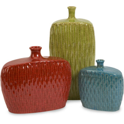 IMAX Worldwide Home Herrera Vases - Set of 3