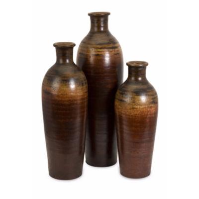 IMAX Worldwide Home Benito Vases - Set of 3