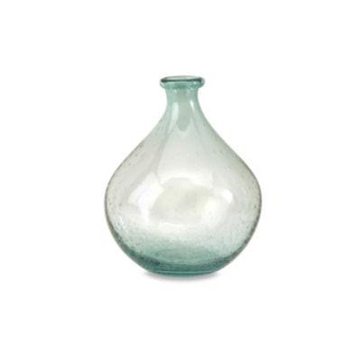 IMAX Worldwide Home Amadour Bubble Glass Bottle