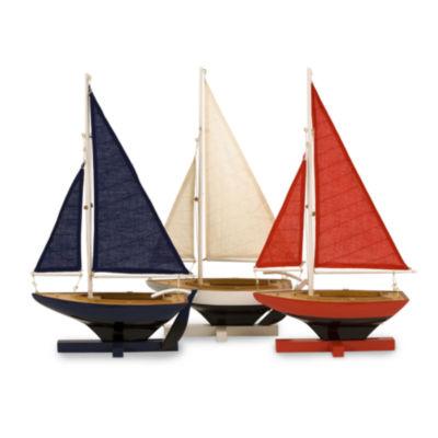 IMAX Worldwide Home Forza Sailing Fleet - Set of 3
