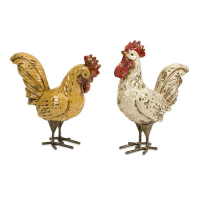 IMAX Worldwide Home Parson Roosters - Set of 2