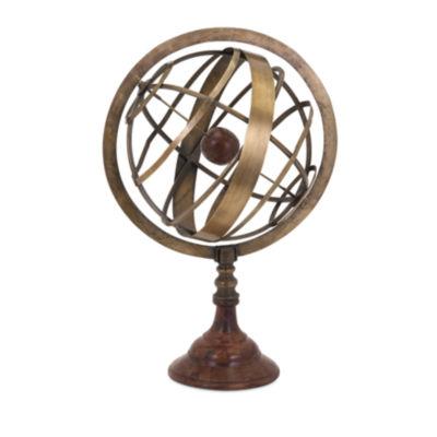 IMAX Worldwide Home Beth Kushnick Armillary Globe