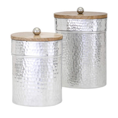 IMAX Worldwide Home Brant Lidded Containers - Setof 2