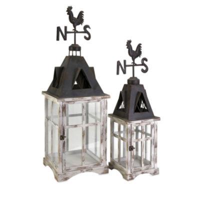 IMAX Worldwide Home Weather Vane Lanterns - Set of2